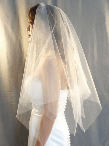 Handkerchief Veil - Distinctive Veils & Accessories
