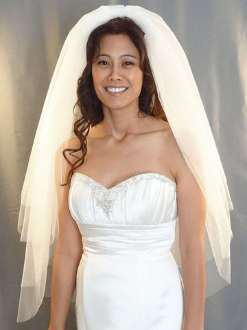 Multi-Layered Wedding Veil - Distinctive Veils & Accessories