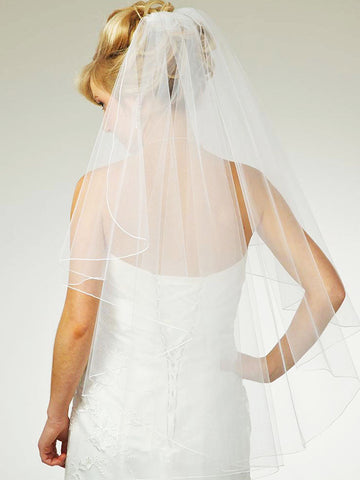 Full Waterfall Veil with Pencil Edge - Distinctive Veils & Accessories