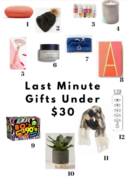 Last minute gifts under $30