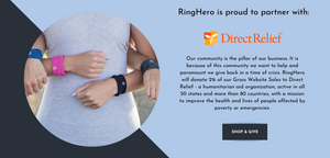 direct relief, covid19relief, protect your ring