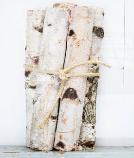 Birch Wood Bundle - Set of 5-Farmhouse Living - Farmhouse Decor