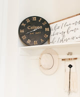 Customizable Wall Clock-Farmhouse Living - Farmhouse Decor