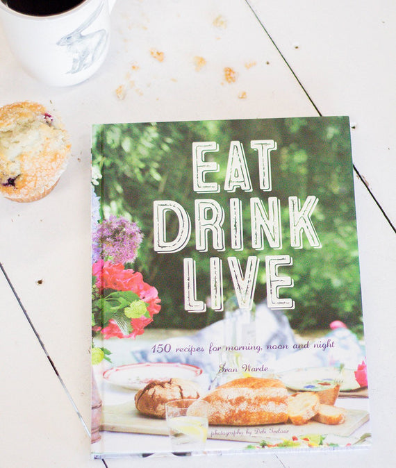 Eat Drink Live-Farmhouse Living - Farmhouse Decor