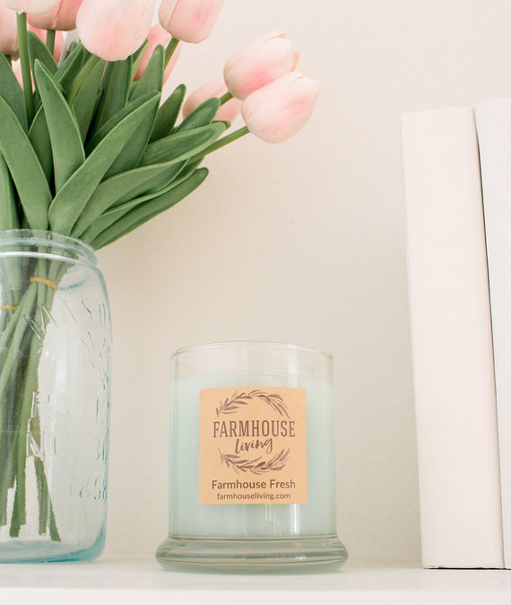 Farmhouse Fresh Candle-Farmhouse Living - Farmhouse Decor