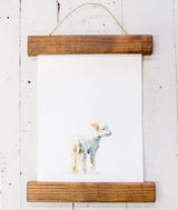 Framed Watercolor Animals-Farmhouse Living - Farmhouse Decor