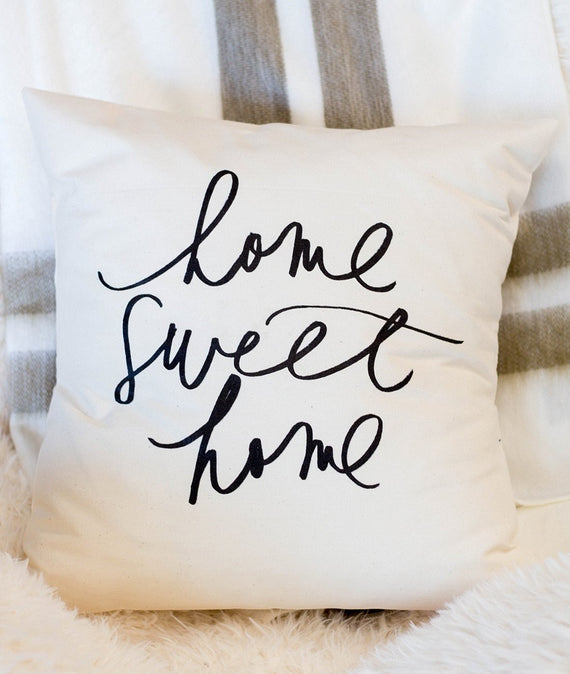 Home Sweet Home Pillow-Farmhouse Living - Farmhouse Decor