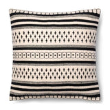 Magnolia Home Charis Black & White Pillow-Farmhouse Living - Farmhouse Decor