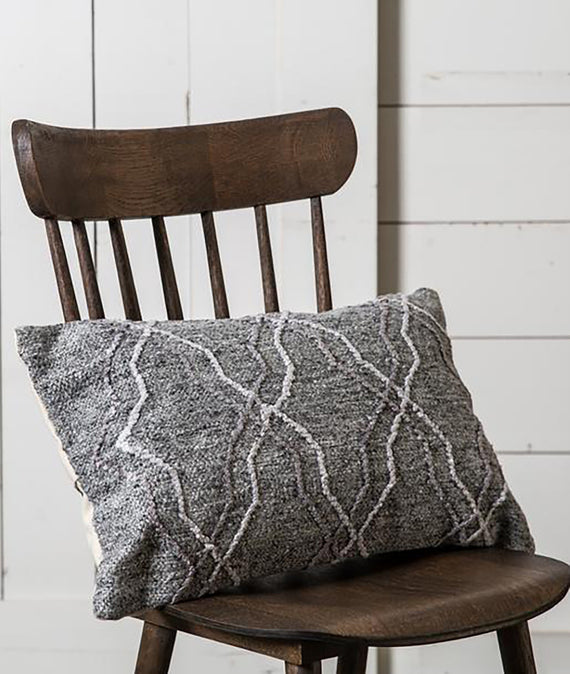 Magnolia Home Passage Pillow Grey-Farmhouse Living - Farmhouse Decor