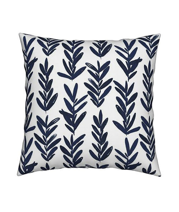 Sage Indigo Pillow-Farmhouse Living - Farmhouse Decor