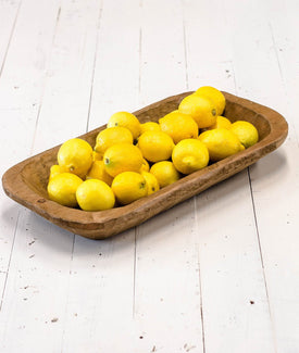 Wooden Dough Bowl-Farmhouse Living - Farmhouse Decor