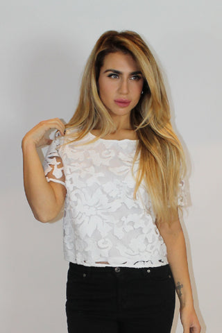 Stefania Lace Top