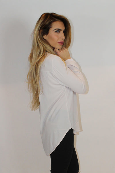 Sophia Cream Blouse