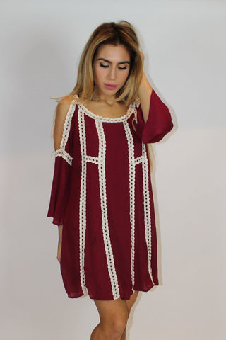 Nina Bohemian Cut Out Dress