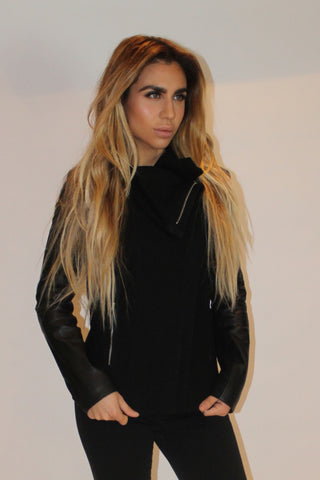 Serena Oversized Collar Jacket