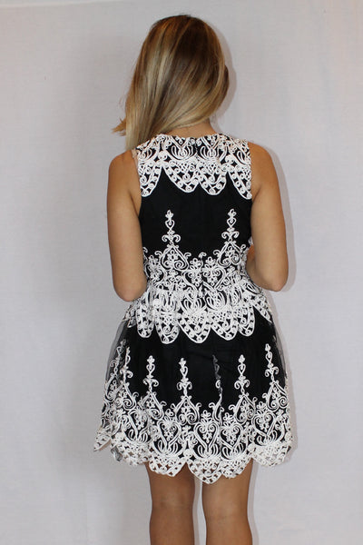 Senorita Embroidered Dress