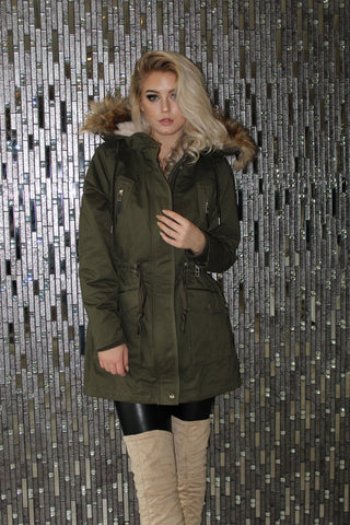 Hunter Green Winter Coat
