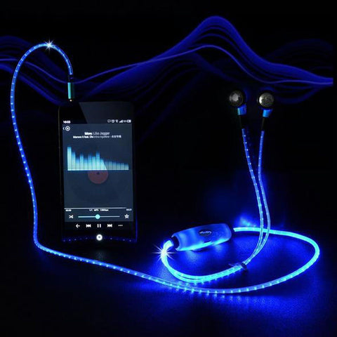LED Light Up Earbuds