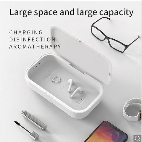 Image of UltraViolet Sterilization Box - Wireless Charging Capability