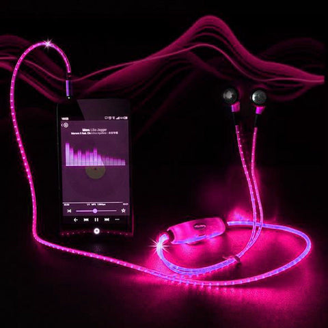 Image of LED Light Up Earbuds