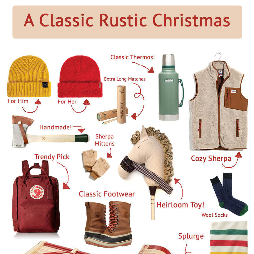 A Rustic Christmas Gift Guide!