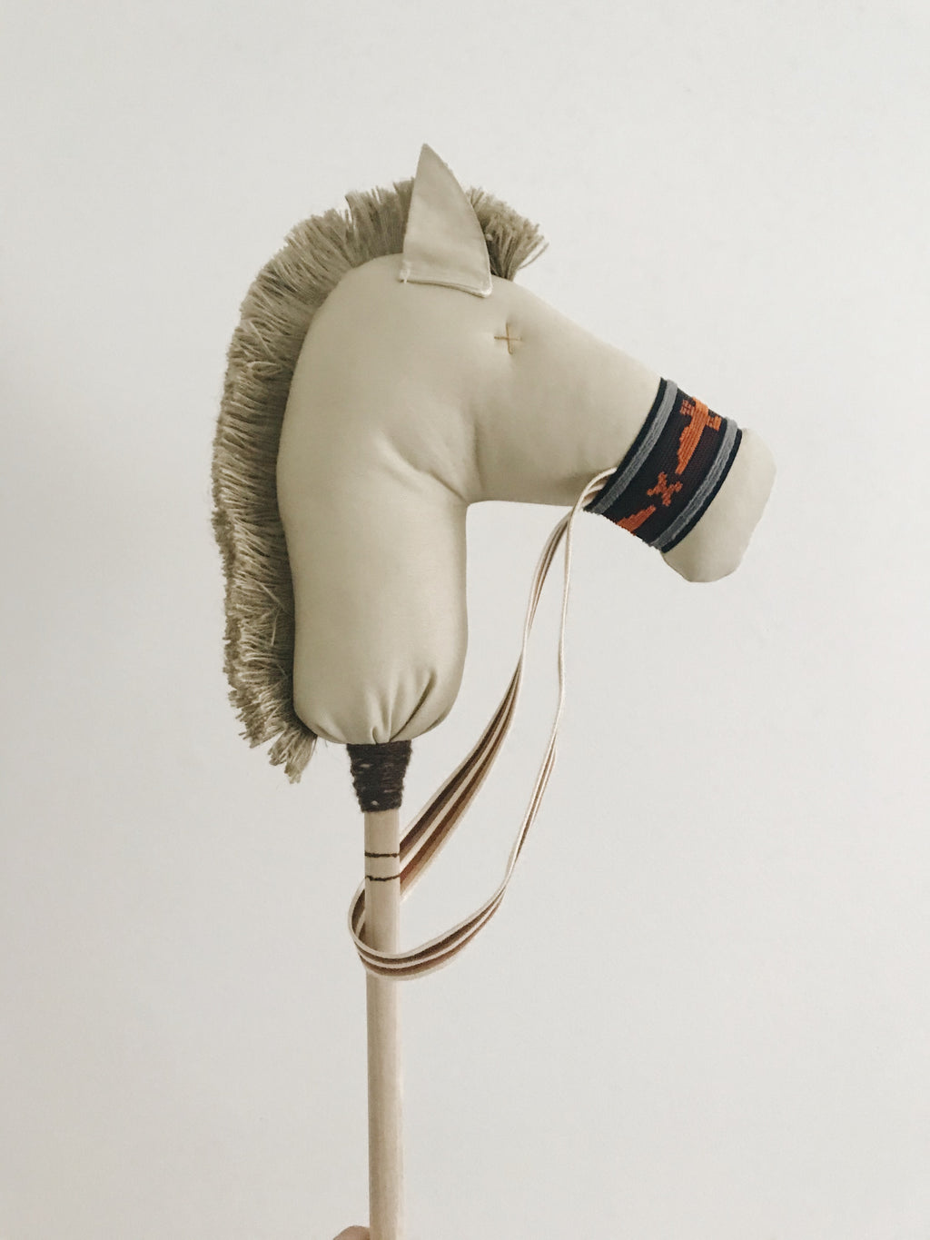 Ace: the Stick Horse in Neutral and Navy