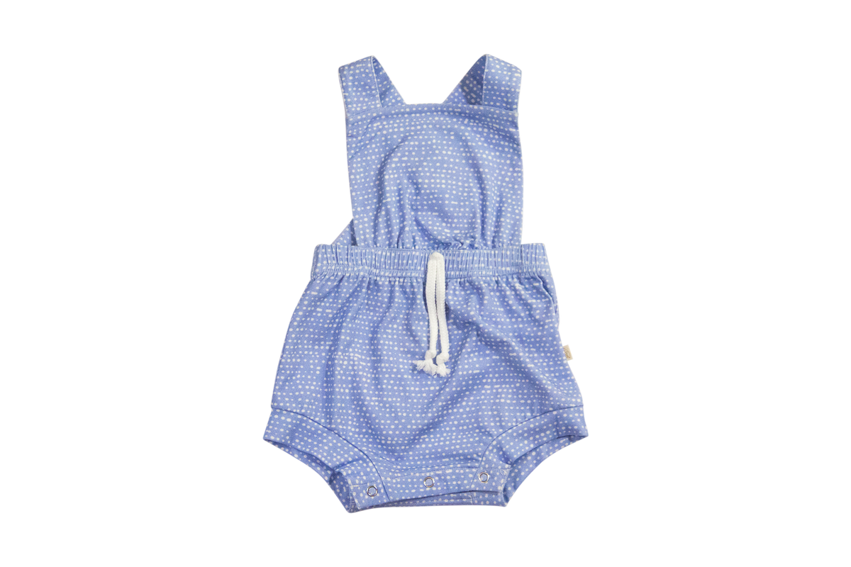 Cottage Romper in Raindrops