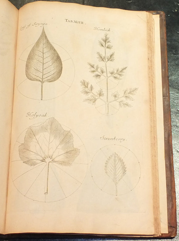 GREW, Nehemiah (1641-1712). The Anatomy of Plants. With an Idea of a Philosophical History of Plants. And Several Other Lectures, Read Before the Royal Society