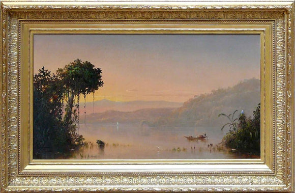 Scene on the Upper Guayaquil River, S. A. Norton Bush (1834-1894).