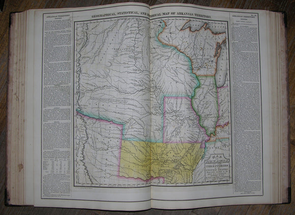 [CAREY AND LEA]. A Complete Historical, Chronological, and Geographical American Atlas, Being a Guide to the History of North and South America, and the West Indies...to the year 1822