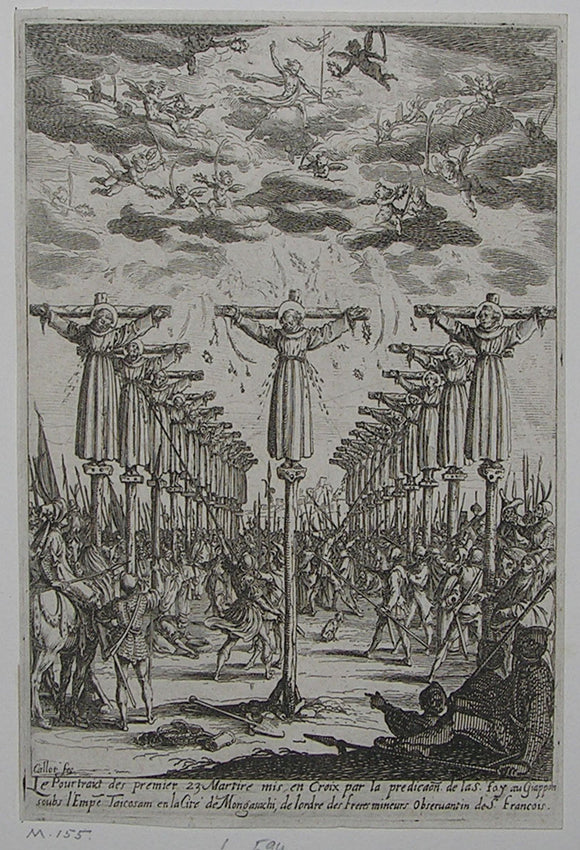 CALLOT, Jacques (1592-1635). The Martyrs of Japan. [France]: 1627.