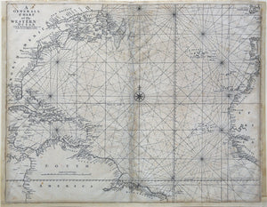 MOUNT & PAGE. A General Chart of the Western Ocean.
