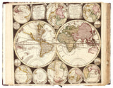 COMPOSITE WORLD ATLAS. [c. 17th to 18th Century]