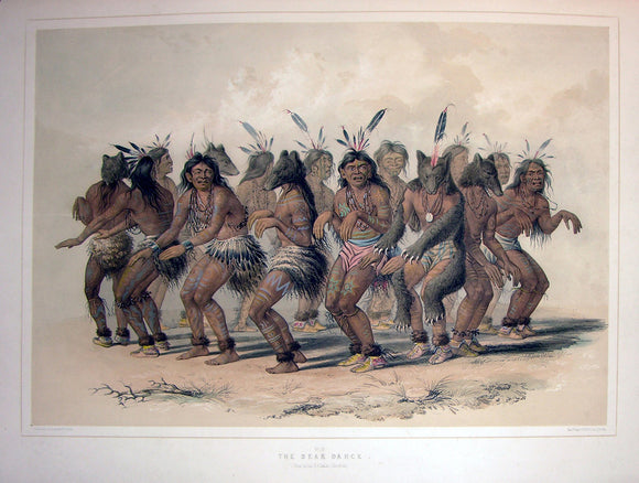 catlin-george-1796-1872-plate-no-18-the-bear-dance