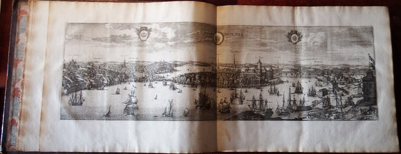 DAHLBERG, Erik Jonsson, Count (1625-1703). Suecia Antiqua et Moderna - Hodierna. [Stockholm: 1692-1713 and later].