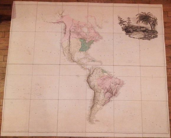 ARROWSMITH, Aaron (1750-1823). Map of America. London: 24 Rathbone Place, 4th September, 1804