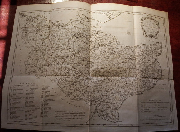 HASTED, Edward (1732-1812). The History and Topographical Survey of the County of Kent. Canterbury: for the Author, 1778-1799.
