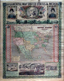 ensign-thayer-ornamental-map-of-the-united-states-mexico-new-york-ensign-thayer-1848