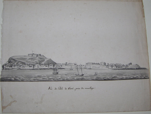 freminville-christophe-paulin-de-la-poix-chevalier-de-1787-1848-view-de-lisle-de-goree-prise-du-mouillage-may-8th-1822
