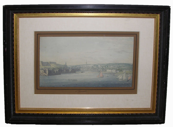 choris-louis-1795-1828-unpublished-original-watercolour-drawing-of-plymouth-harbour-england-ca-1817