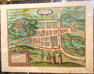 GEORG BRAUN & FRANS HOGENBERG, Edenburgum (Edinburgh), 1572 or later.