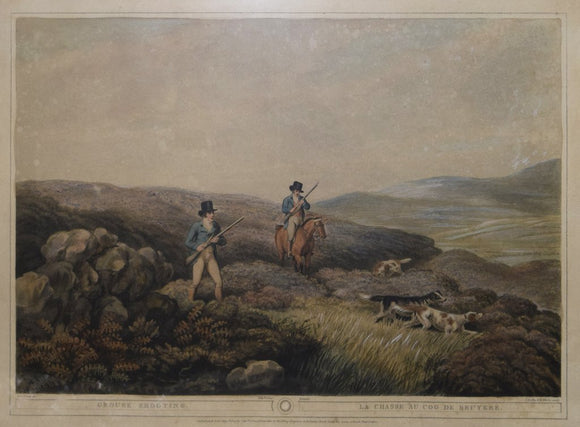 Samuel Howitt (English, ca. 1765-1822), Grouse Shooting