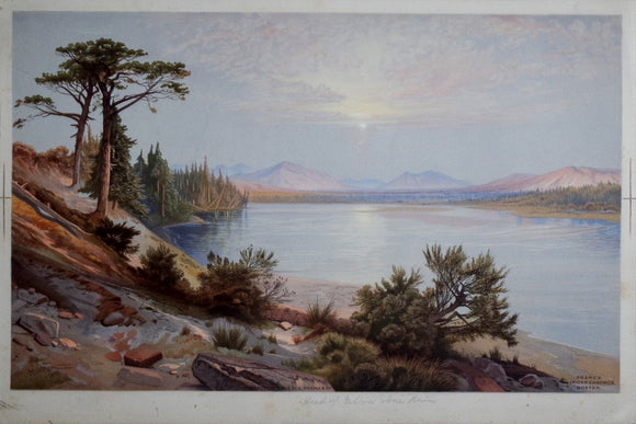 Thomas Moran (1837-1926), Head of the Yellowstone River