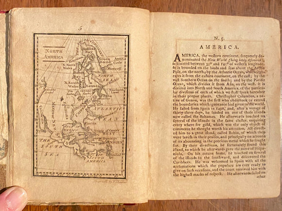 Atlas Minimus: or, a New Set of Pocket Maps, Of various Empires, Kingdoms and States, with Geographical Extracts relative to each. GIBSON, John (fl. 1750-1792).