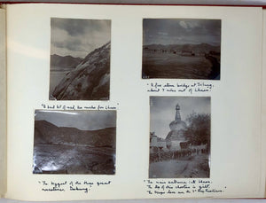 BENNETT, Lieut. William Pyt (d. in action, 1916). AN IMPORTANT AND APPARENTLY UNPUBLISHED SERIES OF GELATIN SILVER PHOTOGRAPHS OF LHASA AND TIBET TAKEN DURING THE CELEBRATED YOUNGHUSBAND MISSION OF 1904.