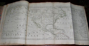 JEFFERYS, Thomas (1719-1771). The American Atlas: Or A Geographical Description of the Whole Continent of America. London: Printed and sold by R. Sayer and Bennett, 1775.