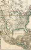Mexico the British Possessions in North America and the United States . . . 1846 [Case Map]