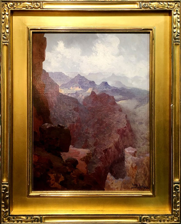 William Robinson Leigh (1866-1955), Untitled [The Grand Canyon]
