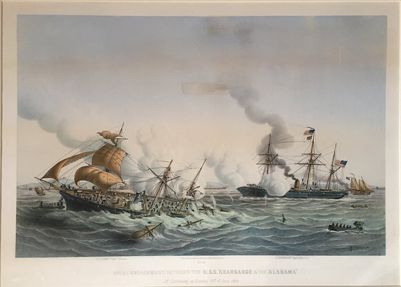 LOUIS LEBRETON, Naval Engagement between the U.S.S.