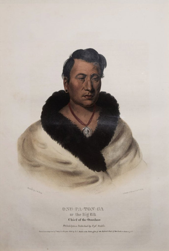 Ong-Pa-Ton-Ga or the Big Elk, Chief of the Omahas